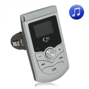 87.5MHz ~ 108.0MHz Car MP3 Player FM Transmitter with 2GB Storage